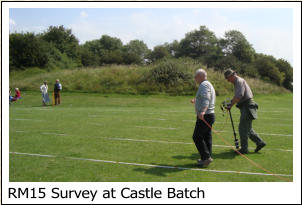 RM15 Survey at Castle Batch